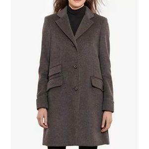 Lauren Ralph Lauren Wool Blend Coat Gray US Sz 14